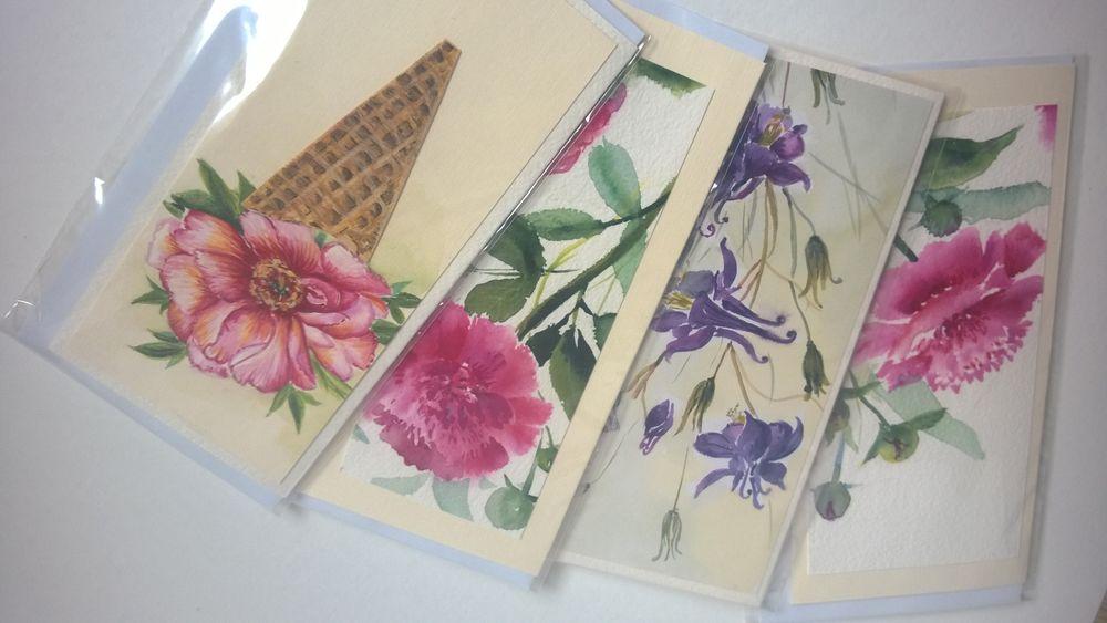 маки, открытки, открытки для женщин
