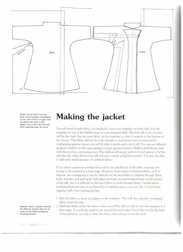 нунофелтинг, нуно фетр, валяная одежда, валяный жакет