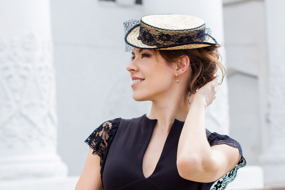 шляпа цилиндр, дизайнерская шляпка
