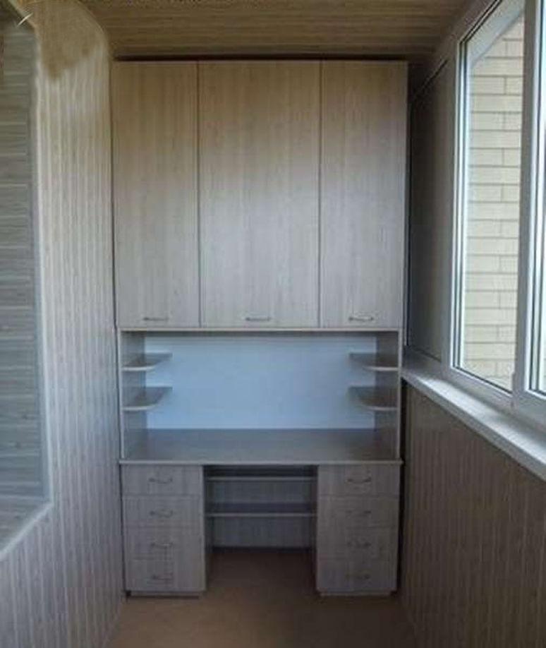 Шкафчики на балконе: 40 уютных идей для обустройства - Ярмар.