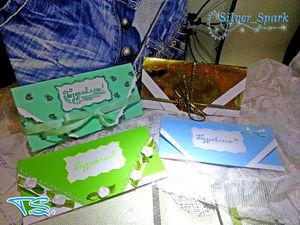 Как легко и просто сделать подарочный конверт для денег | Ярмарка Мастеров - ручная работа, handmade