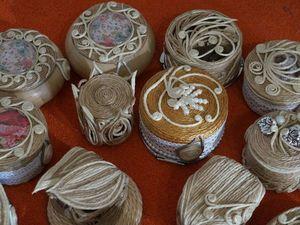 Шкатулки для Ксении.. Ярмарка Мастеров - ручная работа, handmade.