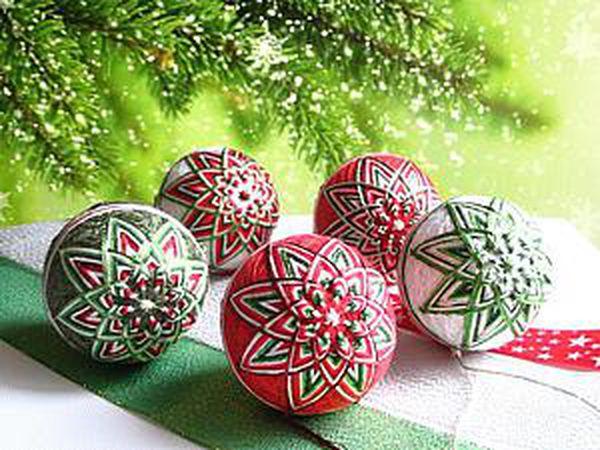 How to Make an Unusual Temari Ball for Your Christmas Tree | Livemaster - handmade