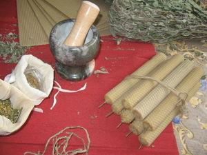Изготовление свечей из вощины с травами. Ярмарка Мастеров - ручная работа, handmade.