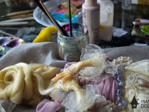 Моя новая кукла...очень скоро в магазине!. Ярмарка Мастеров - ручная работа, handmade.