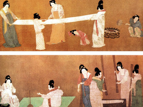 history of silk The history of the silk road in china silk road style performances can be seen at the tang dynasty show in xi'an the silk road is the world's longest and most historically important overland trade route.
