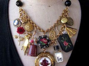 Original Ideas for Repurposing Vintage Jewelry. Livemaster - handmade