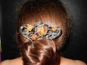 Немного о шпильках и длинных волосах. Ярмарка Мастеров - ручная работа, handmade.