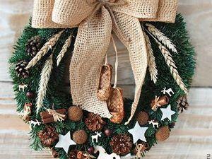 Рождественские венки!. Ярмарка Мастеров - ручная работа, handmade.