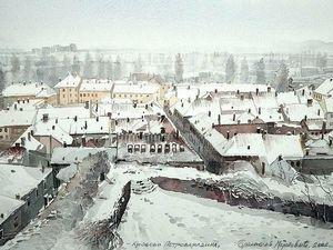 Городской пейзаж в работах Бранислава Марковича Умбры. Ярмарка Мастеров - ручная работа, handmade.
