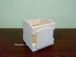 Ящик реечный №28 — заготовка для декупажа. Ярмарка Мастеров - ручная работа, handmade.