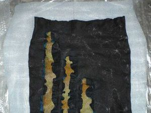 Мастер-класс: юбка «Мраморная» методом мокрого валяния. Ярмарка Мастеров - ручная работа, handmade.