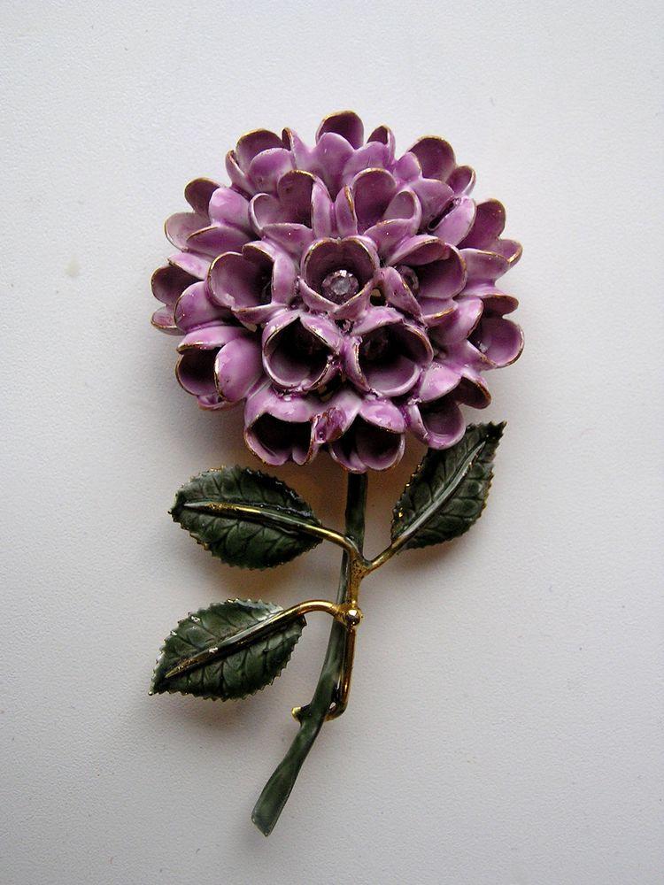 брошь-цветок