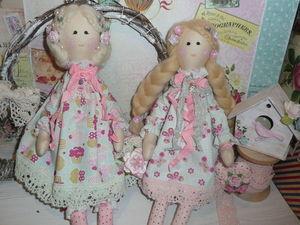 Скидка!!! -15% на все готовые куклы!!!. Ярмарка Мастеров - ручная работа, handmade.