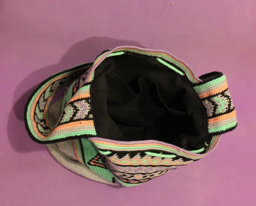 mochila, сумка крючком, сумка вязаная