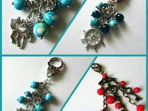 Новинки! Брелоки для ключей от Olga Gardenia   Ярмарка Мастеров - ручная работа, handmade