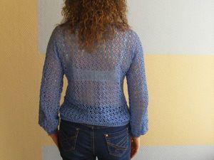 Джинсовое настроение! Пуловер
