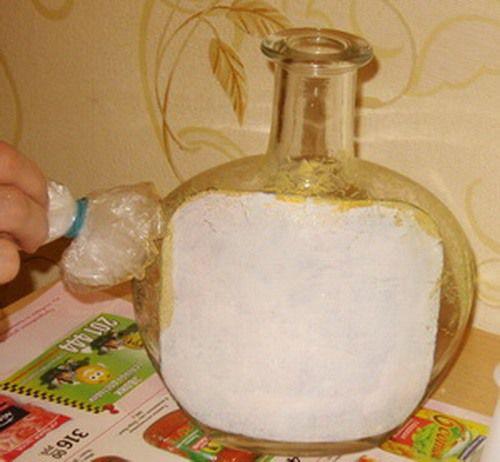 декор бутылки мк