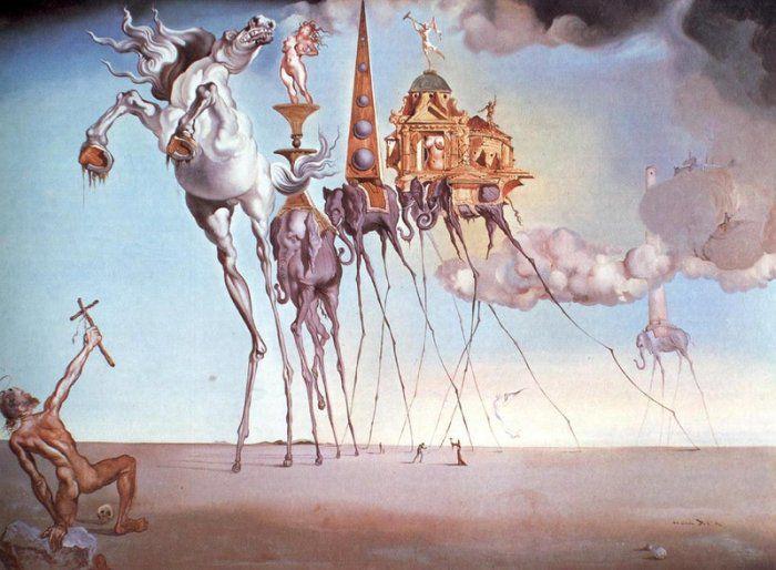 День рождения гениального художника, сюрреалиста Сальвадора Дали., фото № 1