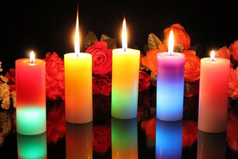 свечи с заговорами