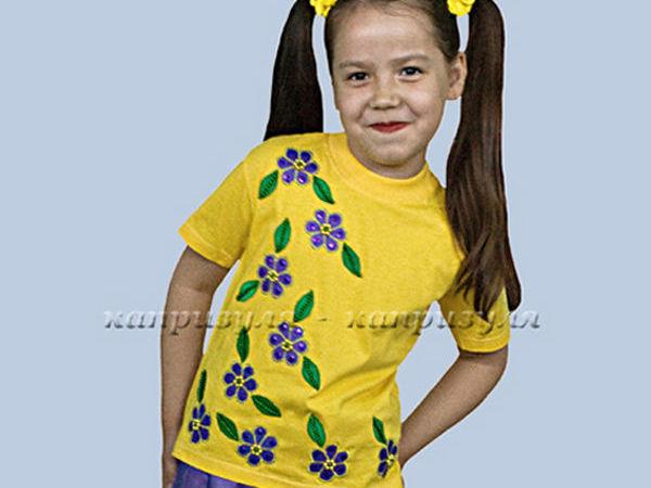 Пришиваем аппликацию на детскую желтую футболку   Ярмарка Мастеров - ручная работа, handmade