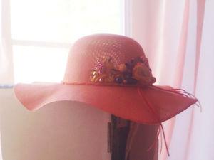 Пришла посылочка  от Мастер Юлия LABORERA Бижу Шляпки Береты!. Ярмарка Мастеров - ручная работа, handmade.