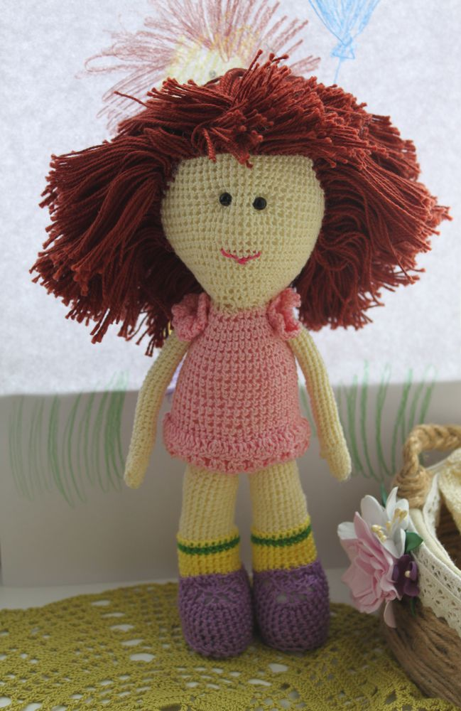 кукла по рисунку, кукла, авторская кукла, вместе с детьми