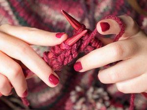 Способ вязания без поворота полотна. Ярмарка Мастеров - ручная работа, handmade.