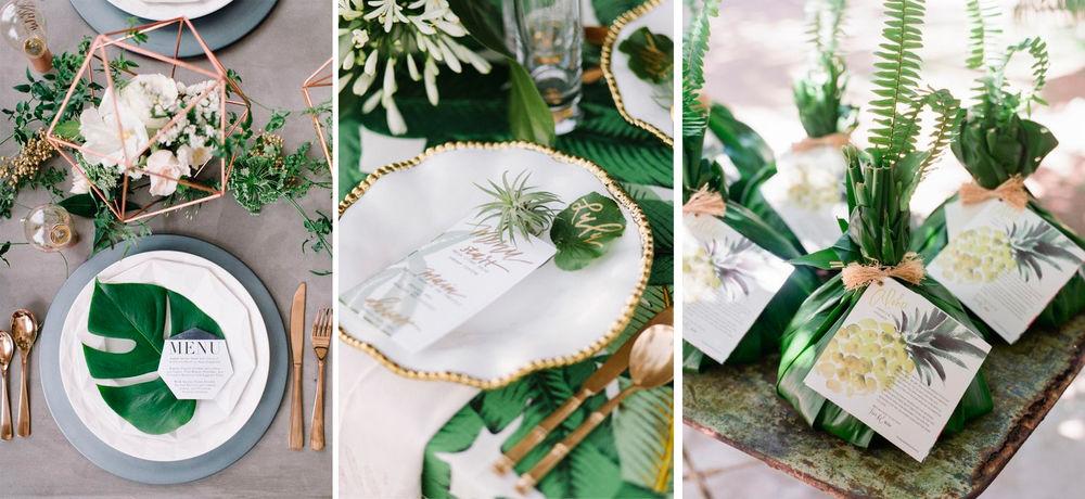 экзотические цветы, свадебная арка