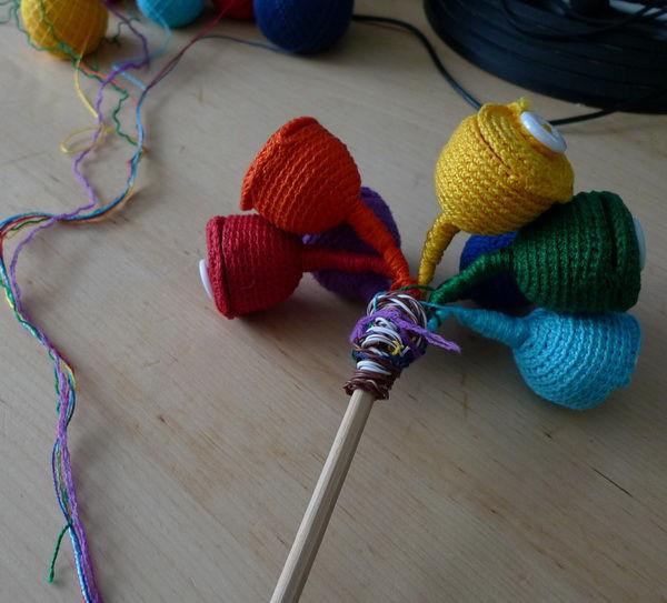 Делаем сами развивающую игрушку «Волшебный цветок», фото № 7