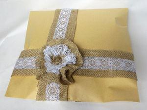 Делаем цветок для упаковки подарка. Вариант 2: классический. Ярмарка Мастеров - ручная работа, handmade.