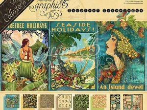 Новинка Graphic 45 -Tropical Travelogue. Ярмарка Мастеров - ручная работа, handmade.