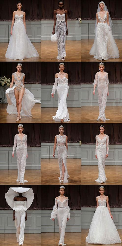 Неделя свадебной моды в Нью-Йорке: 100 лучших подвенечных платьев, фото № 11