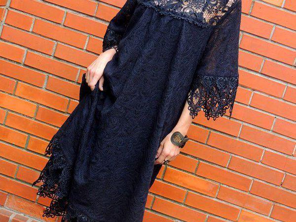 НОВИНКА! Маленькое черное платье   Ярмарка Мастеров - ручная работа, handmade