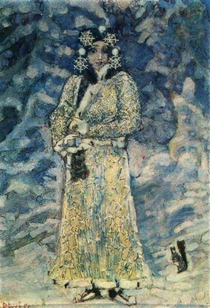 Предания о «ледяной» девушке, или Каким должен быть костюм у Снегурочки? – Ярмарка Мастеров