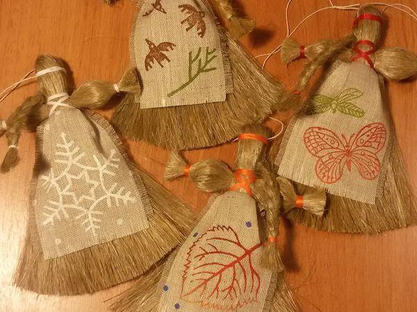 Льняницы - образы времен года   Ярмарка Мастеров - ручная работа, handmade