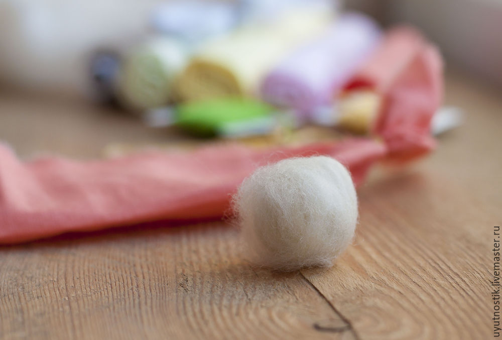 Great DIY Folk Finger Bunny Toy, фото № 7