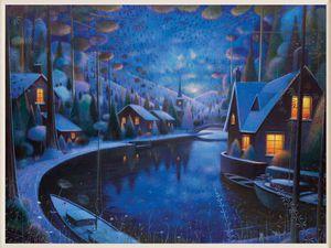 Синий цвет в картинах Ryder Art: 12 потрясающих работ. Ярмарка Мастеров - ручная работа, handmade.