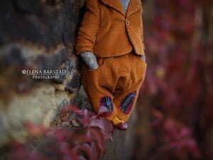 Осеннее...волчье. Ярмарка Мастеров - ручная работа, handmade.