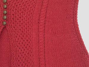 Вязаные вещи в модном красном цвете. Ярмарка Мастеров - ручная работа, handmade.