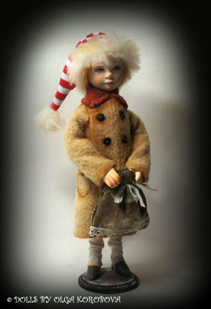 коллекционная кукла, рождество