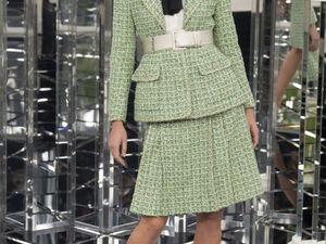 Новый силуэт от Chanel: коллекция весна-лето 2017. Часть 1 | Ярмарка Мастеров - ручная работа, handmade