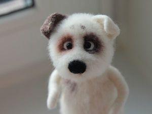 Новая собачка в моем магазине!!!. Ярмарка Мастеров - ручная работа, handmade.