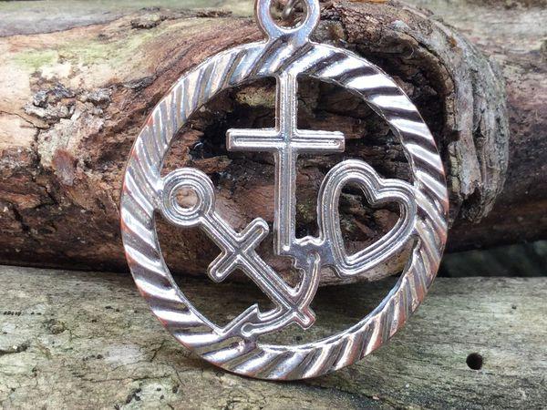 Символ Веры, Надежды и Любви   Ярмарка Мастеров - ручная работа, handmade
