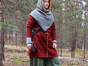 Новый комплект средневековой одежды. Ярмарка Мастеров - ручная работа, handmade.