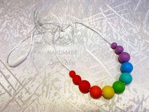 Слингобусы из пищевого силикона. Ярмарка Мастеров - ручная работа, handmade.