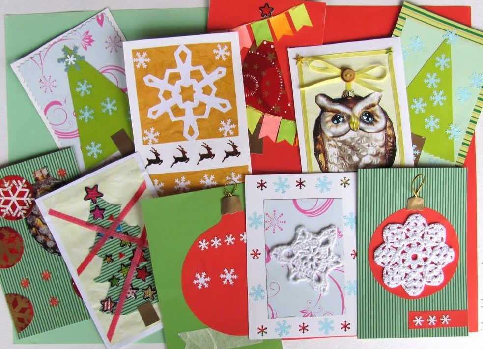 christmas cards, waiting for new year