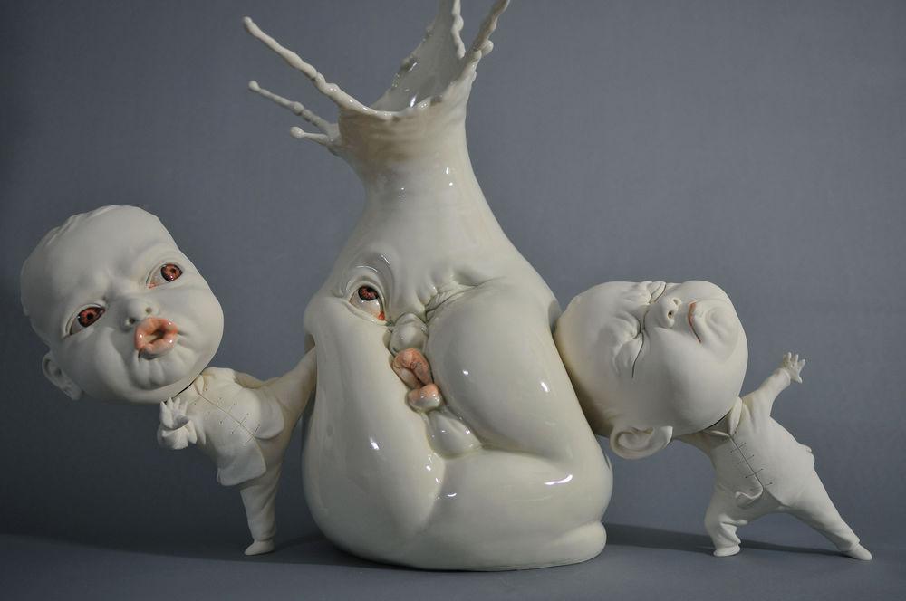 До чего дошел прогресс, или Необычная керамика в работах современных авторов, фото № 36