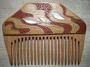 DIY Inlay of a Ready Comb. Livemaster - handmade