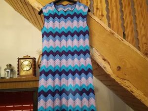 Скидка 20% на вязанное платье в с тиле Миссони. Ярмарка Мастеров - ручная работа, handmade.